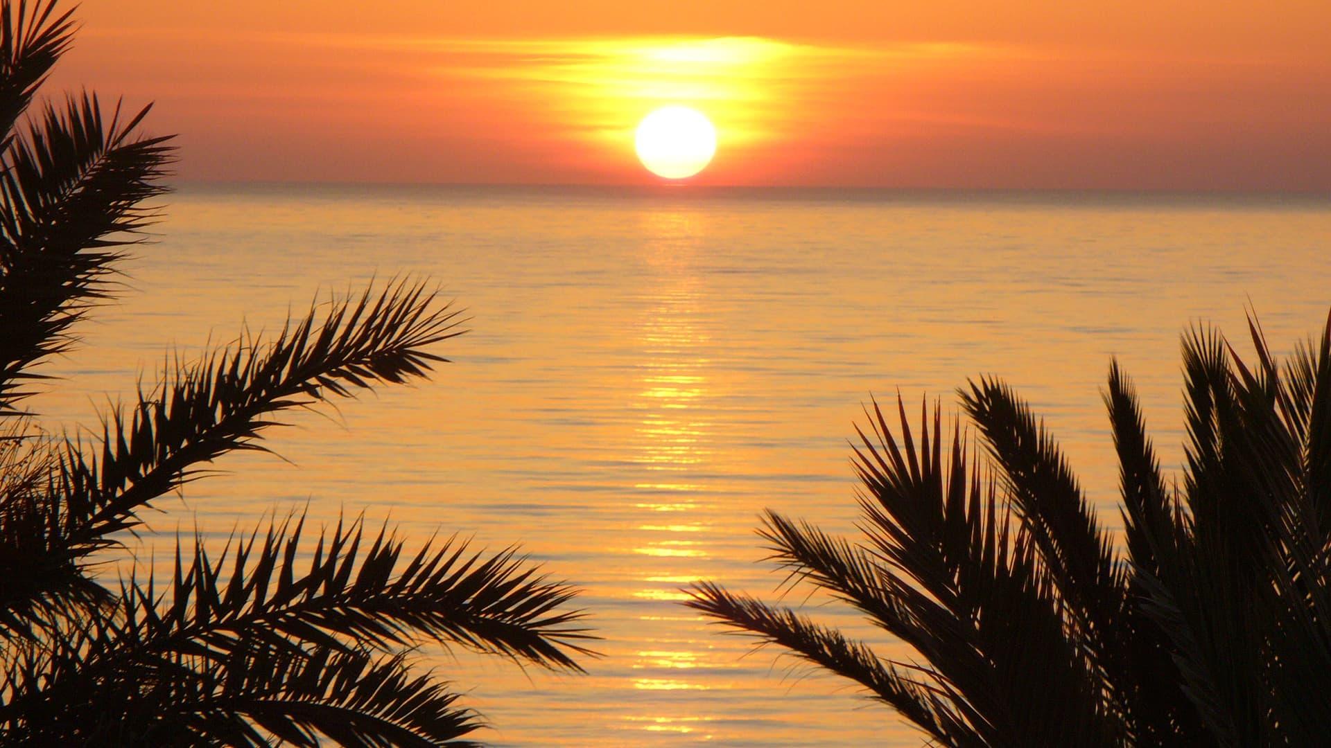 Картинки моря в тунисе
